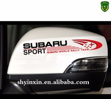 Glossy car body wrap stickers/full color printing custom car stickres