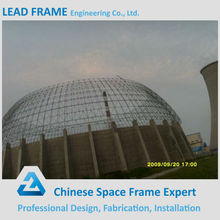 Secure and Durable Steel Structure Power Plant Storage Shed Steel Space Frame Building