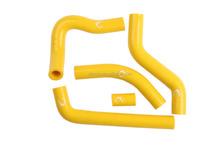 Yellow Motorcycle Silicone Radiator Hose For Suzuki RMZ450 RMZ 450 2006