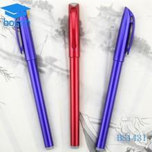 Promotional high quality 2 color colorful gel pen set