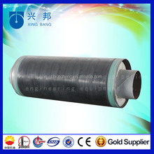 China steam pipe api5l wrapped with insulation material and aluminum foil for green community steam supply