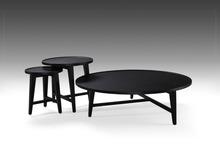 Solid wood slab coffee table black high gloss coffee table hot sale 2015