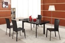 L808d Comtempered Vogue mesa de comedor Bases para vidrio comedor Tops