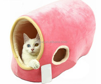 Small pets bed luxury wood pet bed