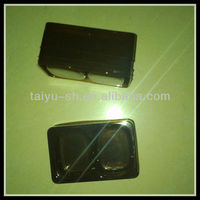 coffee color PVC plastic vacuum forming blister tray for food packaging