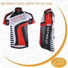 Quick Dry Breathable customisation men cycling jerseys short clothing +bib shorts pants made in Ningbo China