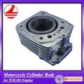 Mejor calidad ZS200CC cuerpo del cilindro de vuelos baratos de China de la motocicleta