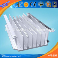 Hot product in 2014! Extruded heat sink aluminum/ aluminum extrusion heat sink hing quality/ Air conditioner part