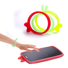 fashion cartoon colorful soft silicone universal case for any mobile phone or mp3