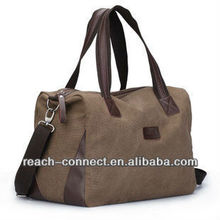 canvas square travel bag