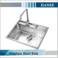 K-H5545RT stainless steel sink single bowl,sus handmake sink kitchen turkey