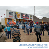 YEESO Innovative LED Mobile Stage Truck for sale