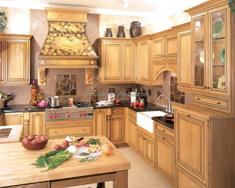 Cherry wood kitchen cabinet buy kitchen cabinet kitchen for Cherry wood kitchen cabinets price