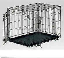metal dog crate, Double Door folding cage, kennel, travel,portable, kennel, pet