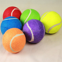 pet dog toy wholesale colored best tennis balls sale with brand