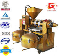 oil refinery sacha inchi oi cold and heat spiral press medium oil milling machine with filter
