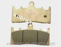 direct factory offering sintered copper Motorcycle &ATV brake pad suitble for KAWASAKI ZRX 1200 S (B1/B2/B3)