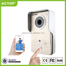 ACTOP 2015 access control system video peephole door camera