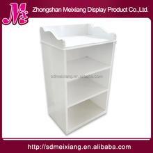 MX-WSF004 4tiers clothing display shelf / wood display shelf for garment shop,promotion,advertising