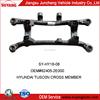 Car crossmember hot selling used on Hyundai tucson metal spare parts