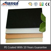 Alusign name build compani facade panel high quality acp new innovation building material
