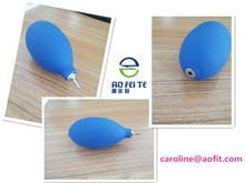 Rubber anti dust air blower for laptop keyboard cleaning, metal or plastic mouse on option