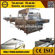 C0326 automático caliente máquina de chocolate enrober