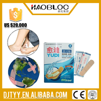 Breathable Plastic Adhesive Wound Plaster Dressing Band Aid Dispenser/Wound Plaster