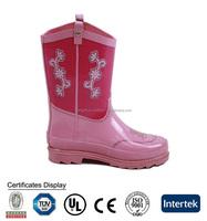 Kid's High Heel Shoes,Kids Fashion High Heel Shoes,Children Pink Rubber Rain Boots