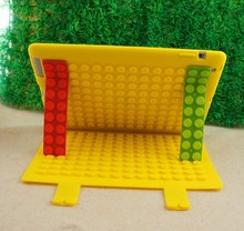 Brick Magnetic Silicone Stand Smart Cover Case for New iPad 2 / 3 4