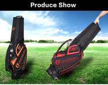 Unique Design Golf Bag With wheels In Possward Lock