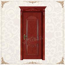puerta de madera de color de esmalte diseño interior puerta precio barato