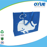 New Style Folding recyclable tote reusable non woven carrying bag