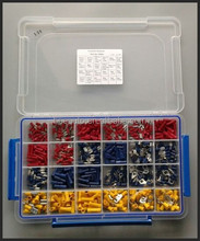 600 pcs terminal kit, electric connector, wire connector kit