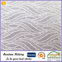 Prismatic stype jacquard knitting fabric and textile