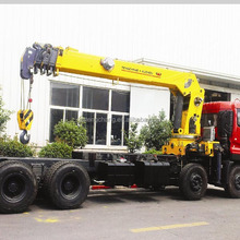 factory sale 18 tons hydraulic swing telescopic boom SQ18SA4 truck mounted mobile crane for truck with ISO9001 certification