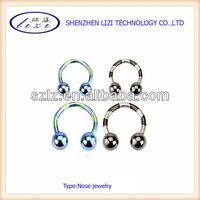16 gauge horseshoe lip rings