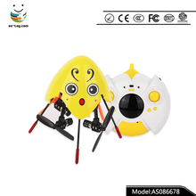 Cute flying toys 4ch 6 axis GYRO rc flying eggs helicopter drone with 2 speed control