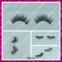 Fashion designed 3D false eyelashes whoelesale eyelash custom packaging