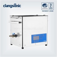 Industrial ultrasonic glass vessel cleaning machine/ultrasonic cleaning equipment for pharmaceutical vessel and bottle cleaning