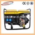 3kw 5kw 10kw Generador diesel portátil set con encendedor eléctrico