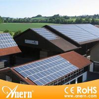 5KW rooftop solar panel mounting system on grid