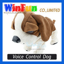 Electronic Animal Toy Voice Control Dog Made In China