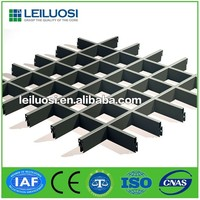 decorative durable aluminum ceiling grid ceiling