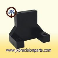 Proximity switch installation high quality aluminum alloy black hard anodic CNC processing custom parts