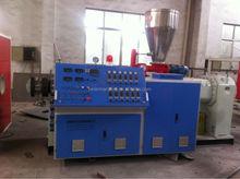 20-63mm CPVC pipe extruder machine of twin screw design