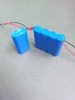 Factory direct selling icr18650 li-ion battery 7.4v / 1500mah 7.4v battery / portable dvd player 7.4v battery