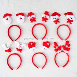 deer snowman bear gloves christmas gifts hair headband