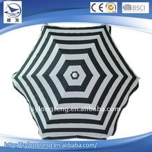 Cheap wholesale tilt/without tilt beach umbrella,stripe beach umbrella