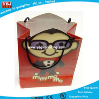 Cute new dot pattern shop gift favour paper carry bag